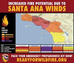 Hours Suspension & Road Closures as California Fires Blare