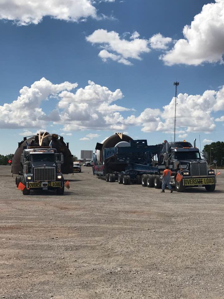 Ace Successfully Transports Two Superloads from OK to CA