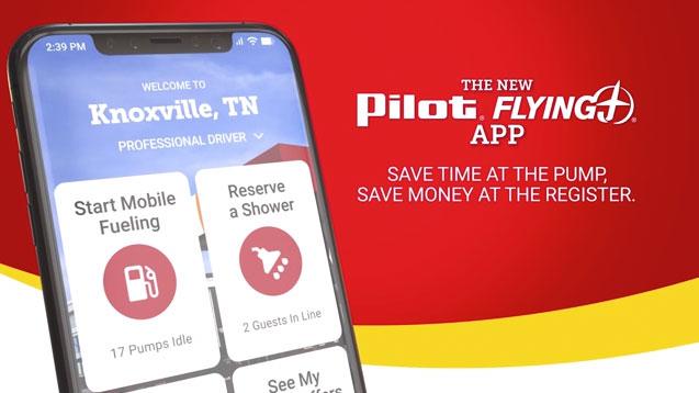 Pilot Flying J's New Mobile App